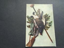 Carte ( 547 ) Fantaisie  Fantasie  Thème : Sport  Chasse  Jacht - Hunting