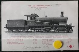N°12) LES LOCOMOTIVES -(SUISSE) N° 108 - Trains