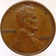 United States Of America 1 Cent 1967 XF - Emissioni Federali