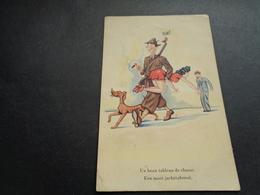 Carte ( 549 ) Fantaisie  Fantasie  Thème : Sport  Chasse  Jacht - Hunting