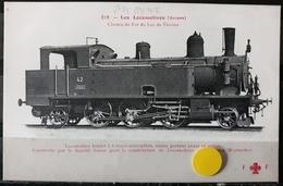 N°13) LES LOCOMOTIVES -(SUISSE) N° 216 - Treni