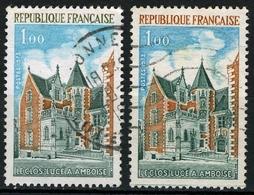 N°YT 1759 - Le Clos-Lucé (variété De Couleurs) - Variétés Et Curiosités