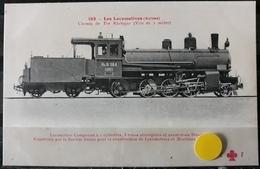N°14) LES LOCOMOTIVES -(SUISSE) N° 185 - Treni