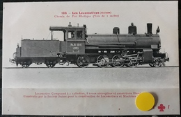 N°15) LES LOCOMOTIVES -(SUISSE) N° 110 - Treinen