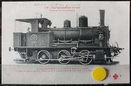 N°16) LES LOCOMOTIVES -(SUISSE) N° 179 - Treni