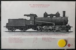 N°17) LES LOCOMOTIVES -(SUISSE) N° 111 - Treni