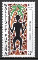Wallis Et Futuna - 1991 - Yvert N° 406 ** - Unused Stamps