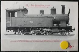 N°18) LES LOCOMOTIVES -(SUISSE) N° 182 - Treni