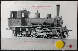 N°19) LES LOCOMOTIVES -(SUISSE) N° 175 - Treni