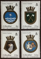 Gibraltar 1991 Naval Crests MNH - Gibilterra