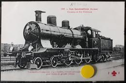 N°20) LES LOCOMOTIVES -(SUISSE) N° 196 - Treni