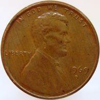 United States Of America 1 Cent 1969 D XF / UNC - Emissioni Federali
