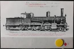 N°21) LES LOCOMOTIVES -(SUISSE) N° 170 - Treni