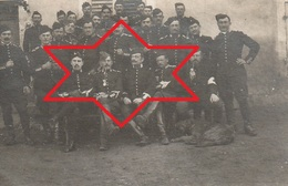 Photo 1915 CROISMARE - Soldats Du 4ème Peloton, 6ème Escadron, 2ème Régiment De Dragons (A216, Ww1, Wk 1) - War 1914-18
