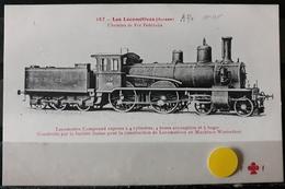 N°23) LES LOCOMOTIVES -(SUISSE) N° 157 - Treni