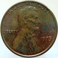 United States Of America 1 Cent 1975 XF / UNC - Emissioni Federali
