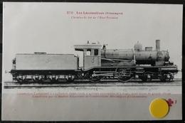 N°25) LES LOCOMOTIVES -(ALLEMAGNE) N° 270 - Trains