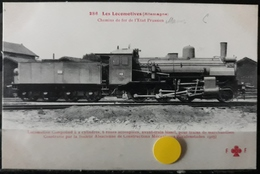 N°26) LES LOCOMOTIVES -(ALLEMAGNE) N° 286 - Treni