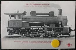 N°27) LES LOCOMOTIVES -(ALLEMAGNE) N° 132 - Treni