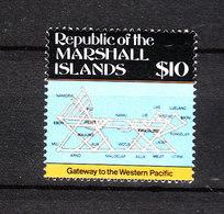 Marshall - 1987.  Cartografia Delle Isole. Francobollo Rarissimo. Cartography Of The Islands. Very Rare Stamp. MNH - Geografia