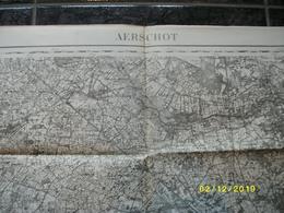 Topografische / Stafkaart Van Aarschot (Beersel Booischot Veerle Testelt Werchter Rotselaar Wespelaar) - Topographical Maps