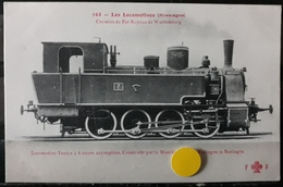 N°28) LES LOCOMOTIVES -(ALLEMAGNE) N° 149 - Treni