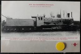 N°29) LES LOCOMOTIVES -(ALLEMAGNE) N° 275 - Treni