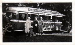 Photo Originale USA - Autocar & Autobus Pickwick Greyhound Lines Of ILL. & Passagères - Photo Rays à La Crosse Wisconsin - Automobiles