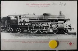 N°30) LES LOCOMOTIVES -(ALLEMAGNE) N° 268 - Trains