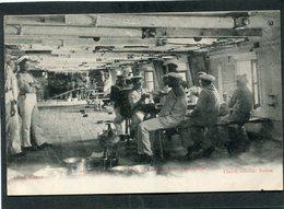 CPA - Marine Française - Le Repas De L'Equipage, Animé - Guerre