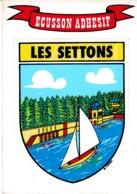 ECUSSON  ADHESIFS LES SETTONS REF 62017 - Montsauche Les Settons