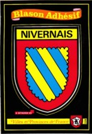 BLASON  ADHESIF NIVERNAIS REF 62026 - Unclassified