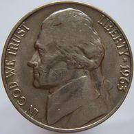 United States Of America 5 Cents 1963 XF - Emissioni Federali