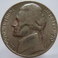 United States Of America 5 Cents 1970 S XF - Emissioni Federali