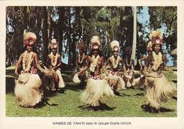 French Polynesia, Danses De Tahiti Avec Le Groupe Etoile Heiva, Used - Frans-Polynesië
