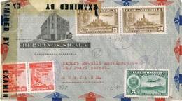 34837. Carta Aerea BARQUISIMETO (Venezuela) 1943. CENSURA, Censor USA. Damaged - Venezuela