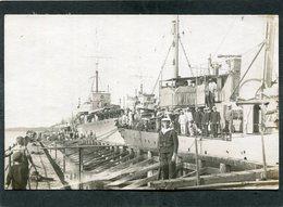 Carte Photo - Marine De Guerre - Marins - Guerra