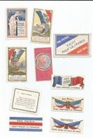 Guerre 1914 - 1918  10 Vignettes/ Timbres - PRO PATRIA Tout Pour La France - Documentos Históricos