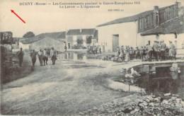 55 MEUSE Lavoir Et Abreuvoir Des Cantonnements De DUGNY Durant La Guerre 1915 - Sonstige Gemeinden