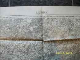Topografische / Stafkaart Van Lier (Oelegem Zandhoven Vorselaar Herentals Oevel Wiekevorst Kessel) - Cartes Topographiques