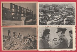 Bataille Des Ardennes 1945 /Battle Of The Ardennes - 8 Postcards, Different Places - Oorlog 1939-45