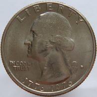United States Of America 25 Cents 1976 D UNC - Émissions Fédérales