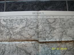 Carte Topographique De Durbuy (Barvaux Mormont Bra Fosse Lierneux Odeigne Dochamps Hampteau) - Cartes Topographiques