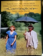 Aff Cine Orig CARRINGTON (1995) Emma Thompson Jonathan Pryce 60X40 - Affiches & Posters