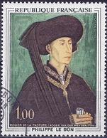 France 1969 - Mi 1667 - YT 1587 ( Philip The Good, Duke Of Bourgogne ) - Oblitérés