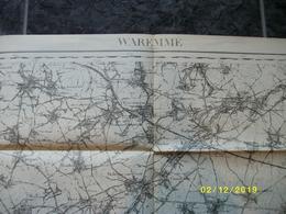 Carte Topographique De Waremme - Borgworm (Montenaeken Limont Donceel Jehay Engis Marneffe Ciplet) - Cartes Topographiques