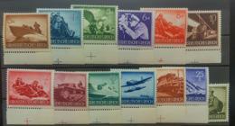 DEUTSCHES REICH 1944 - MNH - Mi 873-885 - Wehrmacht - Complete Set! - Germania
