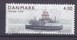 Denmark 2001 Mi. 1292  4.00 Kr Island Ferry Inselfähre Ourø, Orø Schiff Ship - Danimarca
