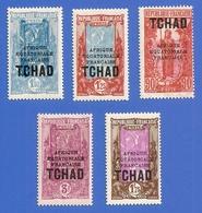 TCHAD 53 / 55 NEUFS ** SANS CHARNIERE - Chad (1922-1936)