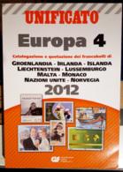 Catalogo Unificato Europa 4 - 2012 - Cataloghi